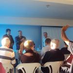 Reunião mensal de associados recebe a Diretoria Executiva da AAFC