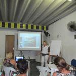 Excelente e elucidativa palestra sobre a dengue, em Santos, esclarece dúvidas
