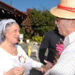 Dj e sanfoneiros alegraram a festa junina da Sub-Sede