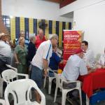 Campanha de saúde em Santos: câncer bucal