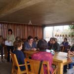 A alegre reunião do Departamento feminino de Araraquara