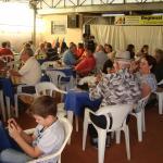 Tarde alegre marca a comemoração dos pais, em Araraquara