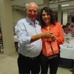 Sorteio de brindes na comemoração das mães, em Presidente Prudente