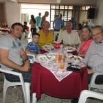 Almoço comemorativo para as mamães, em Itapeva