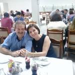 Homenagem ao dia dos Pais e comemoração de aniversário, em Prudente