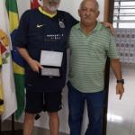 Santos homenageia colaborador na Regional