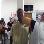 Vacinação contra a gripe 2018, em Santos