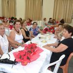 Departamento feminino de Andradina reune-se em confraternização