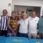 Santos homenageia colaborador João Morrone