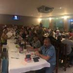 Grande número de associados na comemoração de Fernandópolis