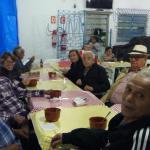 Momento de descontração e união na festa junina de Santos