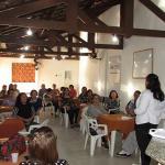 Departamento feminino reunido em Bauru