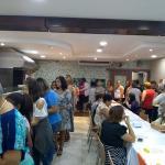Fartura e alegria marcam a comemoração do Dia Internacional da Mulher, em Santos