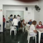 Um dia de cuidados para as mulheres no Dia das Mães de Santos