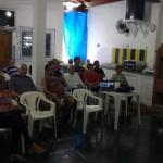 Regional Santos recebe visita de representante da Funcesp