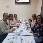 Mulheres reunidas, em Santos